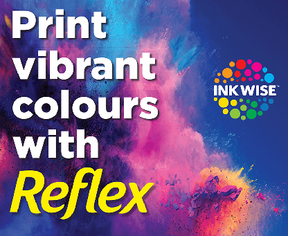 Print Vibrant Colours with Reflex tile